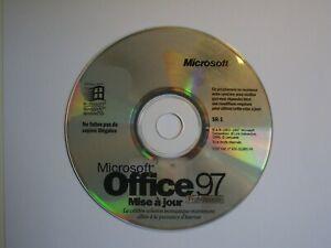 CD-ROM Mise à jour pour Microsoft Office 97, version professionnelle, avec clef