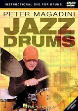Peter Magadini Jazz Drums Instructional Drum DVD NEW 000320499