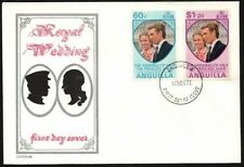 ANGUILLA 1973 ROYAL WEDDING PRINCESS ANNE FDC (ID:527/D7568)
