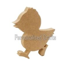Free Standing MDF Walking Chick Blank Shape Crafts Easter Chicken