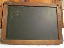antique slate chalkboard school for child initialed