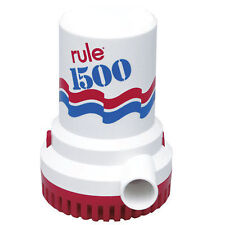 Rule 1500gph Non Automatic Bilge Pump - 12V