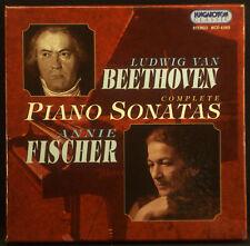 9-CD-Set BEETHOVEN - complete piano sonatas, Fischer