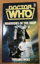 doctor who book - WARRIORS OF THE DEEP Excellent Condition Unread