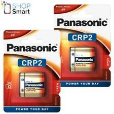 Panasonic Crp2 6v Cr-p2 Lithium Power Battery