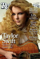 """2009 Taylor Swift Rolling Magazine Poster Approx 22"""" x 34"""" Store Stock Last One!"""