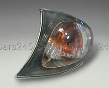 BMW 3 SERIES E46 Wagon LCI Facelift 02-05 Corner Light Turn Signal LEFT Black