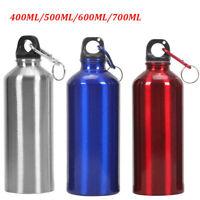 400-700ML Agua Beber Botella Acero Inoxidable Vacío Sports Ciclo Aluminio