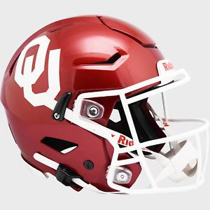 OKLAHOMA SOONERS NCAA Riddell SpeedFlex Full Size Authentic Football Helmet