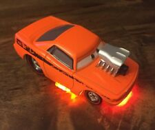 Disney Store Exclusive World of Cars Snot Rod diecast with neon lights 1:43