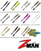 Z-MAN TRICK SHOTZ 3.5 Inch NED Drop Shot Minnow (TS35) Any 11 ElazTech Colors