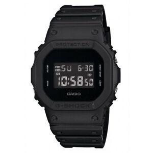 Casio G-Shock Monotone Matte All Black Out Edition Watch GShock DW-5600BB-1