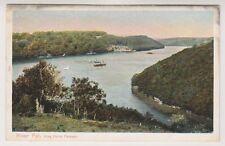 Cornwall postcard - River Fal, King Harry Passage - Peacock No. 1593