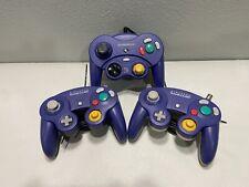 Nintendo Gamecube GCN Lot of 3 Original Controllers - USED