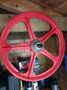 Old school bmx Acorn mag wheels