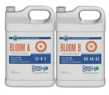 Cultured Solutions Bloom A & B Base Nutrients Hydroponics Current Culture Gallon