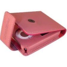 NUOVO Lusso in Pelle Rosa FLIP PELLE Protettiva COVER CASE IPOD NANO 3 da Exspect