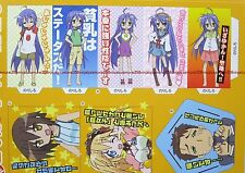 Lucky Star paper pen stand holder promo anime konata cosplay