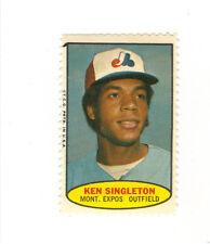 1974 TOPPS BASEBALL STAMP KEN SINGLETON MONTREAL EXPOS