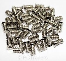 50x PC Computer Case Fan Mounting Self Tapping Flat Head Philips 5x10 Screws