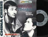 "CHINA CRISIS wishful thinking 7"" PS EX/EX german 106 105"