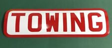 2 X MAGNETIC CAR SAFETY TOWING SIGNS USES> MOTORHOME TOW BAR CARAVAN STABILISER
