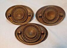 Vintage Brass Ring Pull Hardware