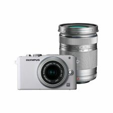 Near Mint! Olympus E-PL3 12.3MP with 14-42mm + 40-150mm White - 1 year warranty