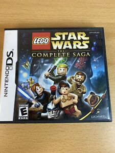 LEGO Star Wars: The Complete Saga - NINTENDO DS 3DS PAL - FREE POST - 2007 - VGC