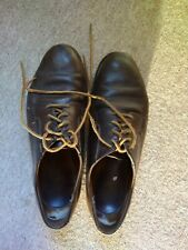 Red Wing Postman Oxford Shoes In Brown UK size 10. Recent Re-sole