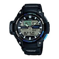 Casio Sgw450h-1a Watch Altimeter Thermometer World Time 100m 5 Alarms Model