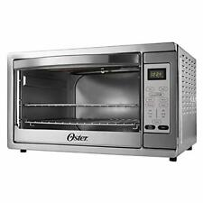 Oster Extra Large Digital Countertop Convection Oven, Stainless Steel (TSSTTV...