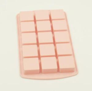 15 Cavity Silicone Square Mould Tray Ice Chocolate Mold Birthday Cube Brownies