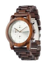 Laimer Reloj Peter Woodwatch Sándalo Reloj de madera Cronógrafo LM0061 Análogo