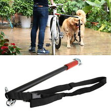 Dog Bicycle Leash Hands Free Lead Keeper Pet Walker Run Train Bike Distance Rack