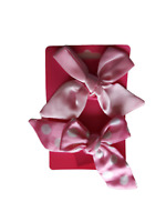 Peppa pig Pink Handmade Hair Bow bobbles x2