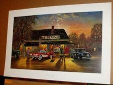 Hometown Hero Dave Barnhouse Corvette Bessies Market Country Antique Car AP