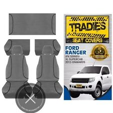SEAT COVERS Ford Ranger PX Series, XL SUPER CAB 2012-CURRENT