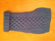 """Yorkie Small Dog Puppy Coat Jumper Blue Chest 10/12"""" Length 12"""""""