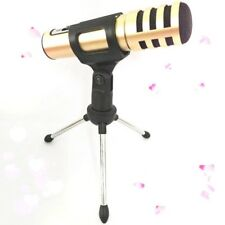 Adjustable Metal Desk Top Desktop Mic Microphone Clamp Clip Holder Stand Tripod
