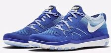 Nike W Free TR Focus Flyknit Blue White Cross Training Shoes 844817 401 Size 6.5