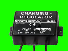 NEU! AKKU-LADEREGLER 12V/DC Charging-regulator 12 Volt Lade-Regler in:16-20 V