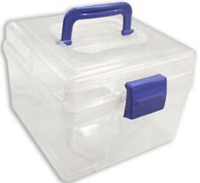 Clear Plastic Storage Box (Pack of: 1) - TJ-03057