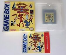 Adventures of Rocky and Bullwinkle and Friends COMPLETE CIB (Nintendo Game Boy)