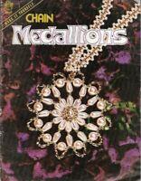 Chain Medallions Make it Yourself Vtg 1975 Leaflet Mangelsens Necklaces Earrings
