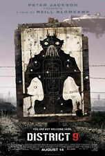 DISTRICT 9 Movie POSTER 27x40 William Allen Young Robert Hobbs Sharlto Copley