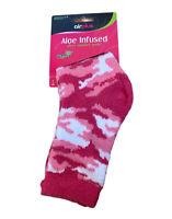 Airplus Air Plus Aloe Infused Fuzzy Blue Corgi Dog Stars Socks Womens Size 5-11