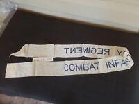 "WW 2 Combat Infantry Battalion streamer. NOS Approx-48"" No Reaction to UV Light."