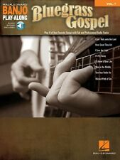 Bluegrass Gospel Sheet Music Banjo Play Along Book Audio Online NEW 000147594