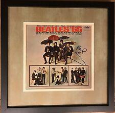 Paul McCartney Signed The Beatles Autographed Album '65 Vinyl JSA Cert Proof